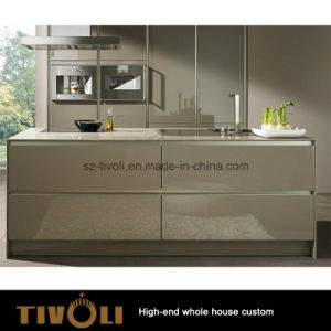 Budget Kitchen Design MDF Melamine Kitchen Cabinet and Kitchen Furniture (AP145) pictures & photos