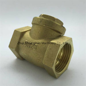 Brass Horizontal Check Valve Non Return Valve pictures & photos