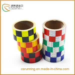Red High Intensity Reflective Tape Roll Film Sticker Self Adhesive 4.5cm*3m*50m pictures & photos
