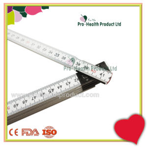 2 Meter 10 Folds Measuring Wooden Spring Joint Foldable Ruler pictures & photos
