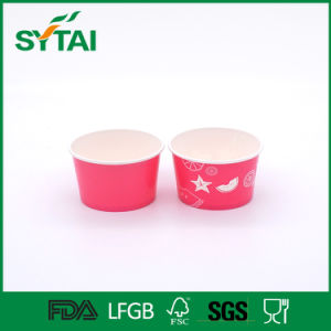 Fruit Printing Disposable PE Coated Ice Cream Paper Cups pictures & photos