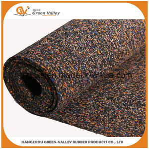 Shock-Reducing EPDM Rubber Tile Rubber Floor Roll for Crossfit pictures & photos
