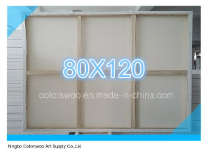 80*120cm Stretched Canvas for Painting and Drawing pictures & photos