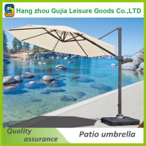 Waterproof Durable Advertising Side Umbrella with Customized Printing