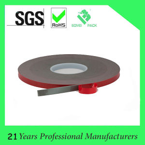Red Film Release PE Double Side Foam Tape pictures & photos