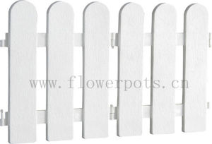 Classic Plastic Garden Fence (KD1104) pictures & photos