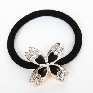 Black Elastic Hair Ornament Accessory for Women pictures & photos