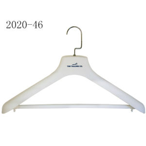 White Plastic Rubberized Motorcycle Clothes Hanger with Bar pictures & photos
