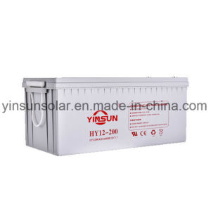 12V 200ah Reliable Quality Gray Solar Lead-Acid Battery pictures & photos