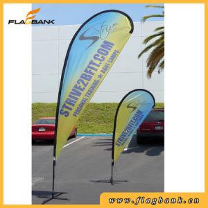 Tradeshow Aluminium Tube Digital Printing Flag Pole Banner pictures & photos