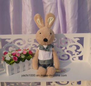 Cute Stuffed Rabbit Plush Toy with Clothes pictures & photos