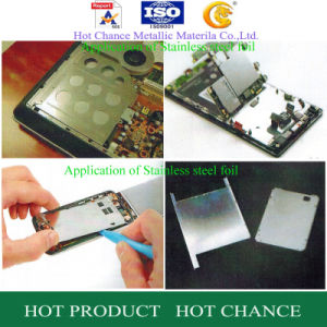 Stainless Steel Foil for Mobile Phone Accessories pictures & photos