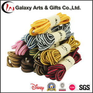 Multicolour 140cm Round Rope Lace Shoelaces for Running Shoes pictures & photos