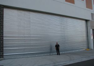Aluminum Residence Garage Roller Shutter Door with Electrical Motor (Hz-FC0563) pictures & photos