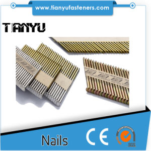 34 Degree Paper Collated Nails pictures & photos