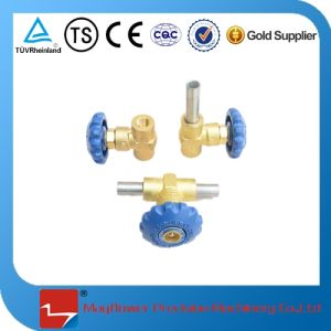 Brass Block Valve Mushroom Cryogenic Valve for LNG Car Cylinder pictures & photos