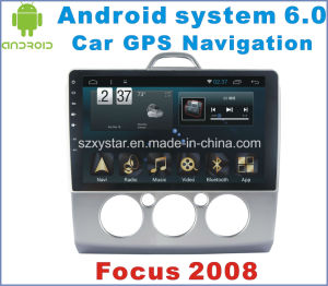 Android System 6.0 Car Navigation for Ford Focus 2008 with Car Player