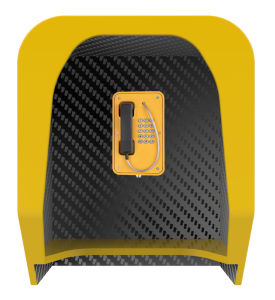Acoustic Phone Booth, Vandal Resistant Phone Hoods, Soundproof Phone Booths pictures & photos