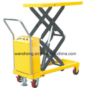 Electric Lift Table Truck / Scissor Lift Table Truck pictures & photos