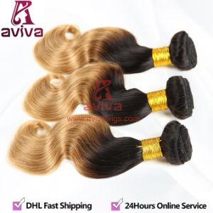 7A Virgin Hair Extension Brazilian Hair Virgin Ombre pictures & photos