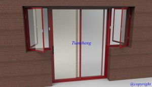 Double Glazing Aluminum Sliding Windows and Doors pictures & photos