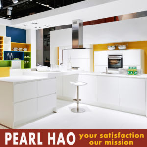 High Quality PVC Melamine Wood Kitchen Cabinet pictures & photos