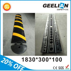 Recycle Rubber Material Speed Bump with Ce Standard pictures & photos
