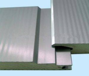 500-100mm Wall PU Sandwich Panel for Thermal Insualtion Sandwich Panel pictures & photos