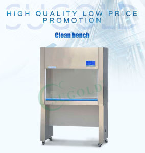 Sugold Sw-Cj-1c Air Supply Clean Bench/Laminar Flow Cabinet pictures & photos