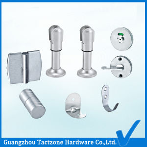Wholesale Bathroom Cubicle Hardware Toilet Ordinary Stainless Steel Partition Set pictures & photos