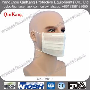 3ply Nonwoven Headloop Medical Face Mask pictures & photos