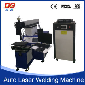 400W Spot Welding Four Axis Auto Laser Welding Machine pictures & photos