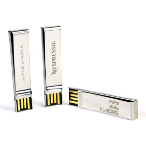 High Quality Metal Memorias USB 8GB with Factory Price Tie Clip USB Flash Drive pictures & photos