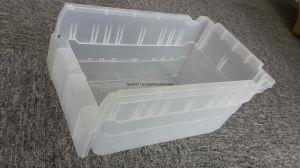 Warehouse Plastic Stackable Plastic Storage Bins/Parts Box pictures & photos