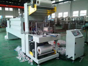 Automatic Mineral Pure Drinking Water PE Film Heat Shrink Wrapping Packing Machinery pictures & photos