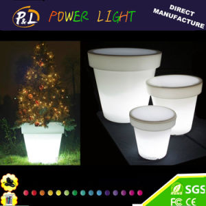 Glowing LED Garden Pot LED Flowerpot pictures & photos