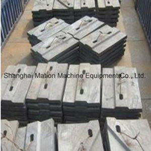 Customized High Manganese Steel Casting Lining Plate