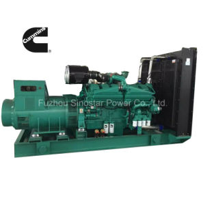 800kw 1000kVA Soundproof Generators with Cummins Diesel Engine pictures & photos