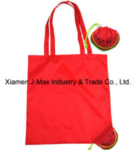 Foldable Shopper Bag, Fruits Watermelon Style, Reusable, Lightweight, Grocery Bags and Handy, Gifts, Promotion, Tote Bag, Decoration & Accessories pictures & photos