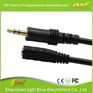 Stereo Extension Audio Cable 3.5mm Stereo Jack Male to Female pictures & photos