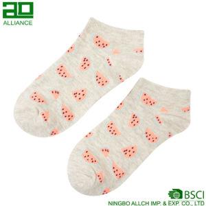 Fruit Lovely Cotton Custom Women Ankle Socks pictures & photos