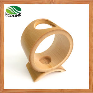 Nature Bamboo Candle Holder for Home Decoration pictures & photos