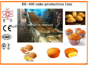 Kh-600 Custard Cake Making Machine for Sale pictures & photos