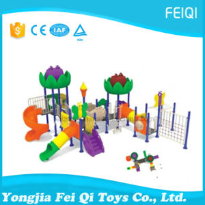 Best Choice Factory Price Plastic Slide Swing Set Nature Series (FQ-YQ07002) pictures & photos