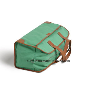 High Quality Waterproof Canvas Travel Hand Bag, Practical Tote Luggage Bag for Trip pictures & photos