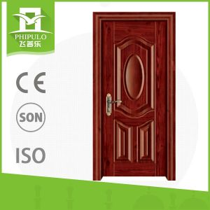 Internal Hot Selling House White Modern Interior Wooden Door pictures & photos