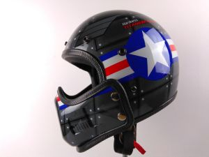 2017 New Style Half Face Helmet for Motorcycle/Bicycle with DOT/Ce Approved. Wholesale pictures & photos