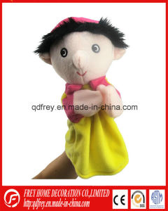 Red Rabbit Plush Hand Puppet with CE Certification pictures & photos