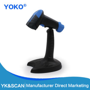 2D/Qr Barcode Scanner with Holder Hand Free Automatic Scan USB Interface pictures & photos