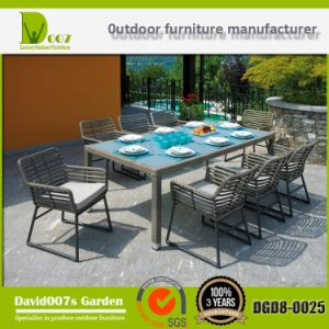 Rattan Wicker Furniture Garden Dining Table Set Dgd8-0025 pictures & photos